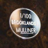 Bentley Brooklands R Mulliner Dashboard Badge