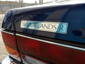 Bentley Brooklands R Mulliner Green Brooklands R Badge