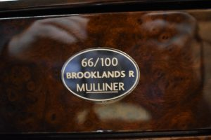Bentley Brooklands R Mulliner WCH66864 Car 66 of 100