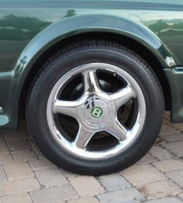 Bentley Continental R Millenium 4 Chrome Wheels
