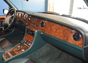 Bentley Turbo R SE Dashboard Spruce Hide