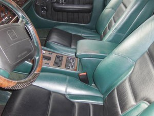 Bentley Turbo R SE Front Seats Spruce Hide