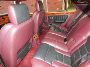 Bentley Turbo R SE Interior Wildberry Hide