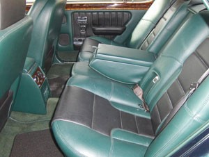 Bentley Turbo R SE Rear Seats Spruce Hide