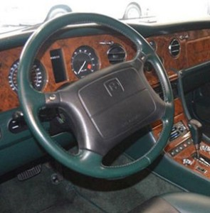 Bentley Turbo R SE Steering Wheel Spruce Hide