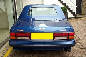 Bentley Turbo RT Olympian Rear