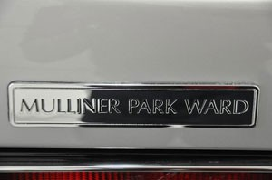 Silver Spur Fort Lauderdale Edition Mulliner Park Ward Badge