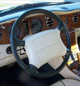 Silver Spur Fort Lauderdale Edition Steering Wheel