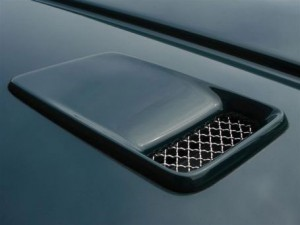 Bentley Turbo RT Mulliner Bonnet Vents