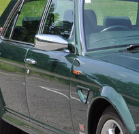Bentley Turbo RT Mulliner Chrome Mirrors