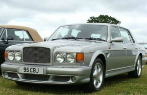 Bentley Turbo RT Mulliner Front Bumper