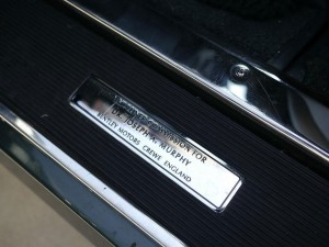 Bentley Turbo RT Mulliner Kick Plates