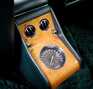 Bentley Turbo RT Mulliner Rear Speedometer